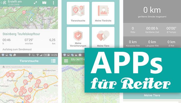 Apps für Reiter