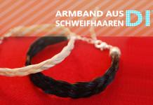 Armband aus Schweifhaaren