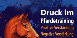 Druck Pferdetraining positive negative Verstärkung