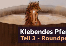 Klebendes Pferd Roundpen