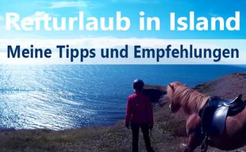 Eine Reiterin mit Pferd steht auf einer Klippe. Im Hintergrund erstreckt sich das weite Meer.