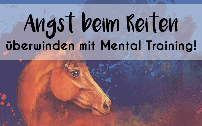 Gemälde eines Pferdes mit der Überschrift